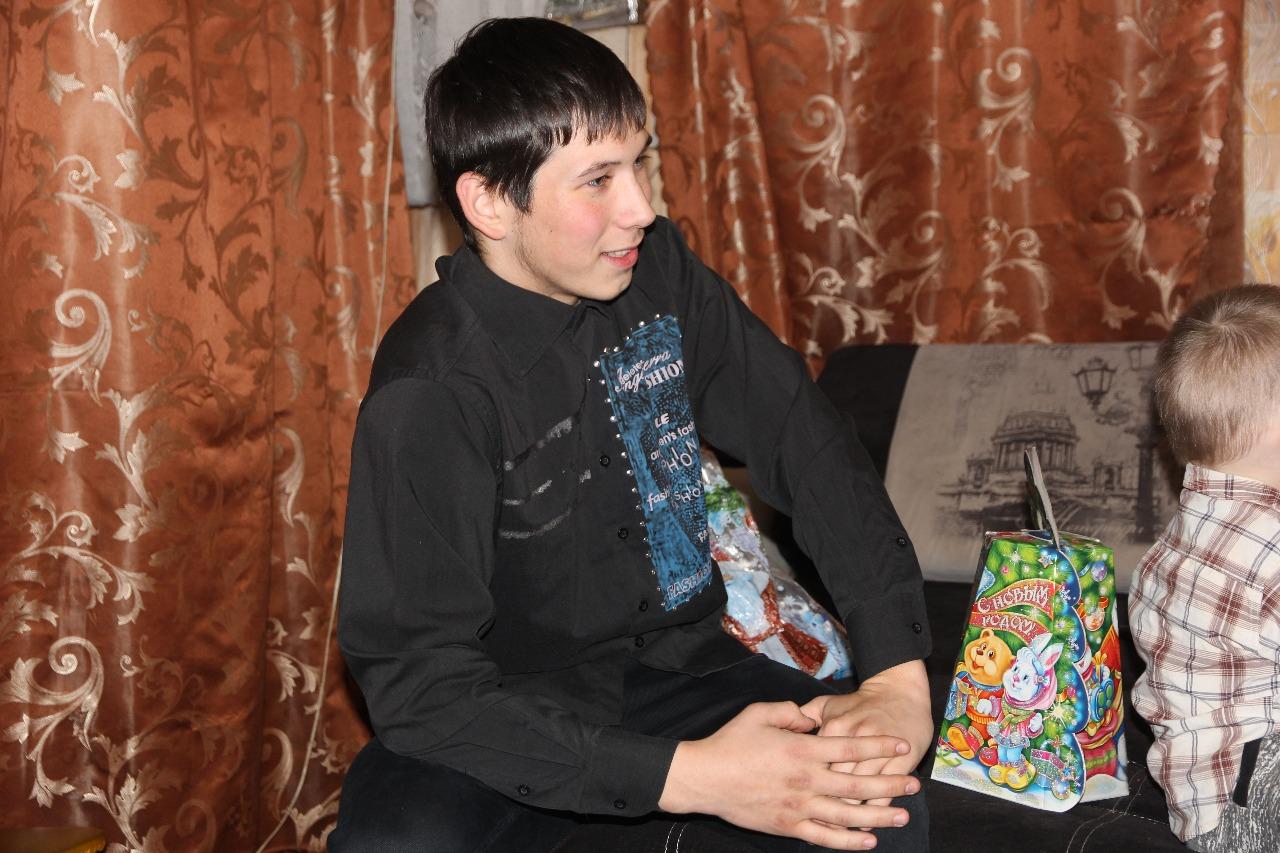 Юный герой Владислав Красовских